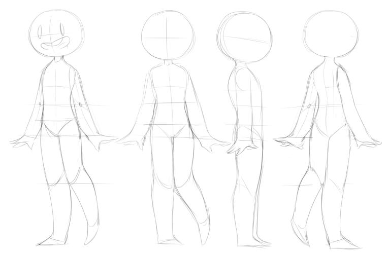 FEMININE character dropback sheet