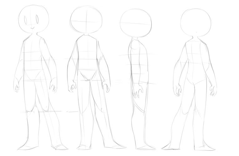 UNISEX character dropback sheet