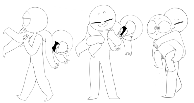 Carry poses