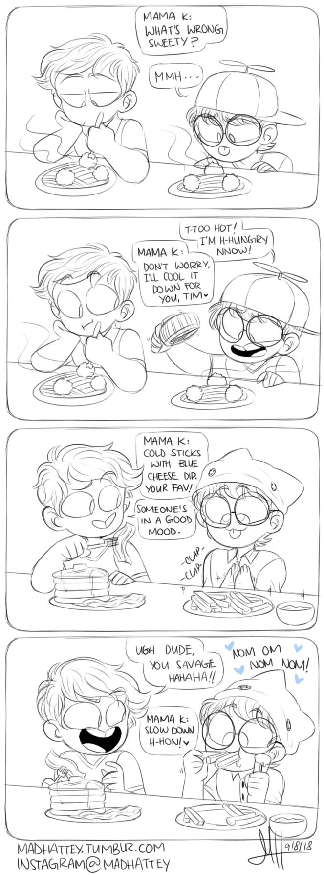 Hypertaste full comic