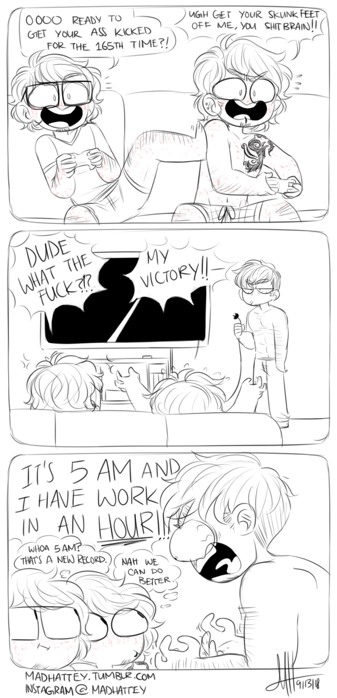 Video Game Day full comic