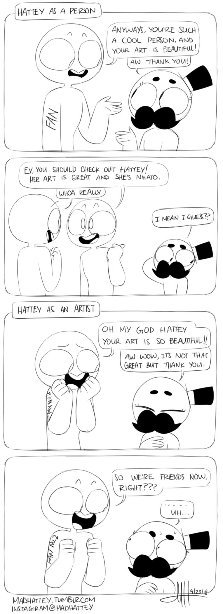 an artist or friend